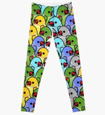 Too Many Birds! - Ringneck Squad Leggings