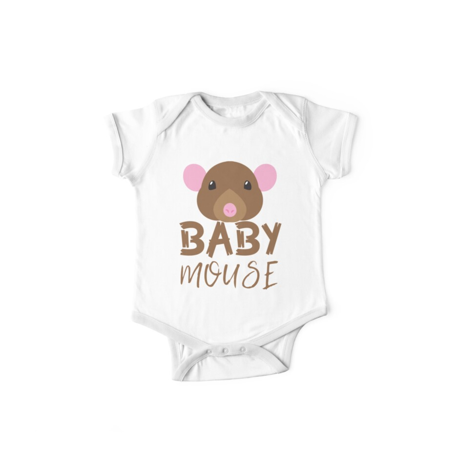 BABY MOUSE (with matching Mama Mouse and Papa Mouse) by jazzydevil