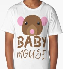 BABY MOUSE (with matching Mama Mouse and Papa Mouse) Long T-Shirt