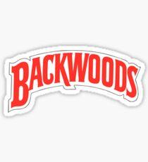 backwoods tobaccp Sticker