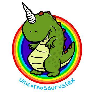 Unicornosaurusrex by calvininnes