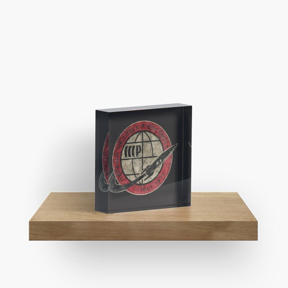 CCCP Space 1961-1971 V02 Acrylic Block