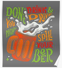 Spill Your Beer Poster