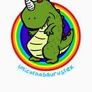Unicornosaurusrex by Calvin Innes