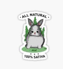 High Rabbit Sticker