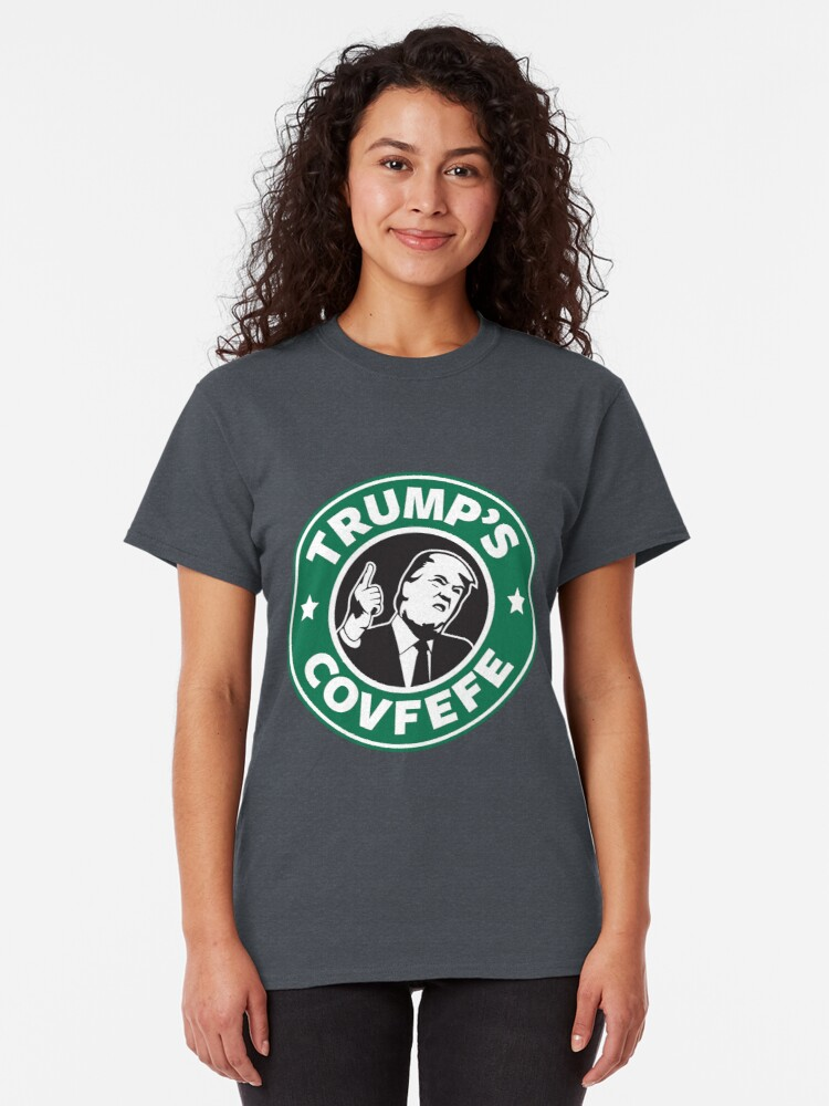 Alternate view of Trump's Covfefe Classic T-Shirt
