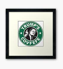 Trump's Covfefe Framed Print