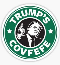 Trump's Covfefe Sticker