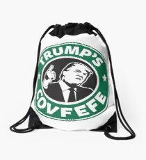 Trump's Covfefe Drawstring Bag