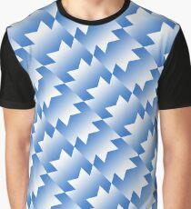 United Retro Design - 1991/1992 Away Kit [Blau & amp; Weiß] Grafik T-Shirt