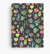 Bright cacti Canvas Print