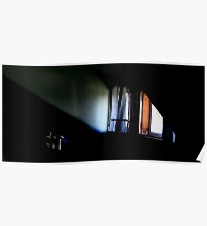 Lightplay Across an Attic Dormer Poster