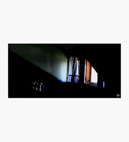 Lightplay Across an Attic Dormer Photographic Print