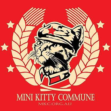 The Mini Kitty Commune Flag by MiniKitty