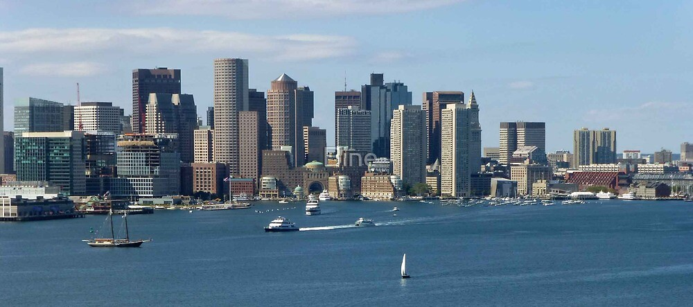 Boston Harbour by Bine