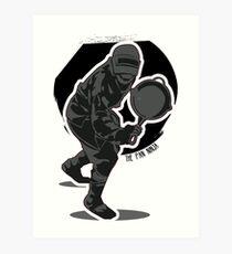 PUBG Pan Ninja Art Print