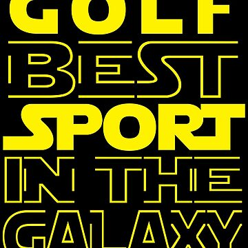 Golf best sport in the Galaxy  by mohsenmohamed