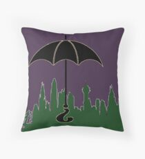 Nygmobblepot Throw Pillow