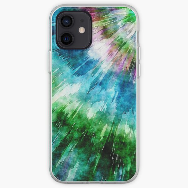 Abstract Grunge Tie Dye iPhone Soft Case