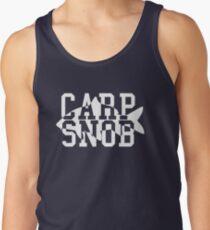 Carp Snob Fisherman's Shirt Tank Top