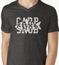 Carp Snob Fisherman's Shirt Men's V-Neck T-Shirt
