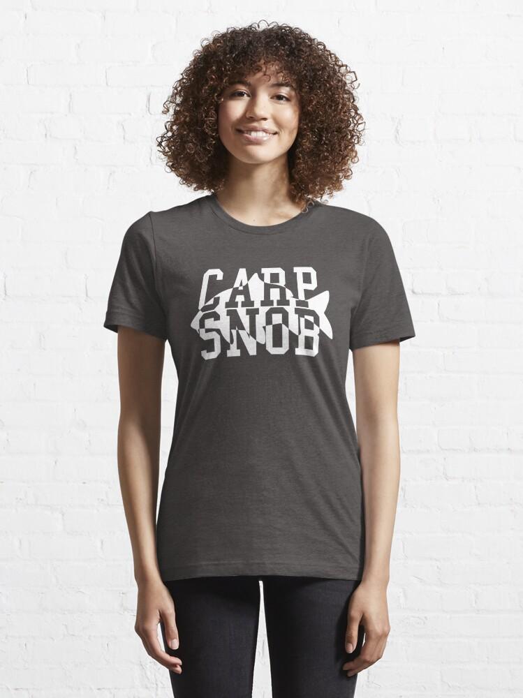 Alternate view of Carp Snob Fisherman's Shirt Essential T-Shirt