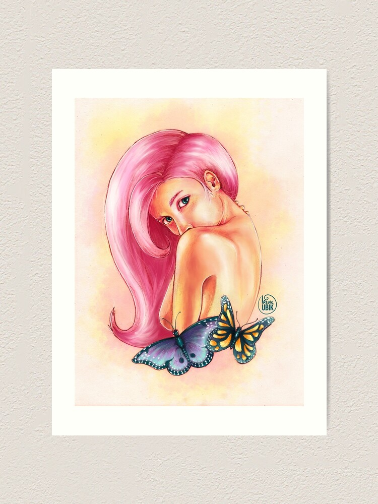 Alternate view of Butterfly Art Print