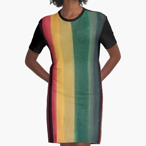 Serape 1 Graphic T-Shirt Dress