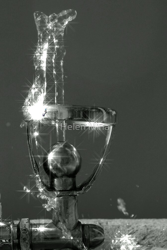 Water Bubbler by Helen Mina