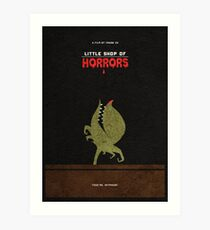 Little Shop of Horrors Alternative Minimalist Poster Art Print