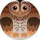Eurasian Tawny Owl by FurvaNoctua