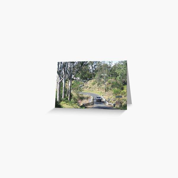 The Esk to Toogoolawah Road Greeting Card