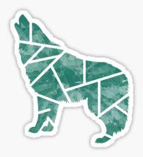 Cry Wolf Sticker
