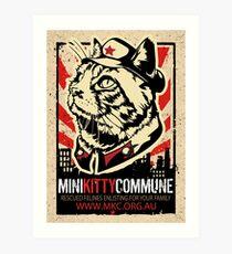 MKC Furdell Catstro Poster Art Print