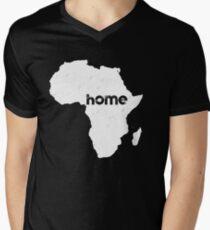 Afrika T-Shirt mit V-Ausschnitt für Männer