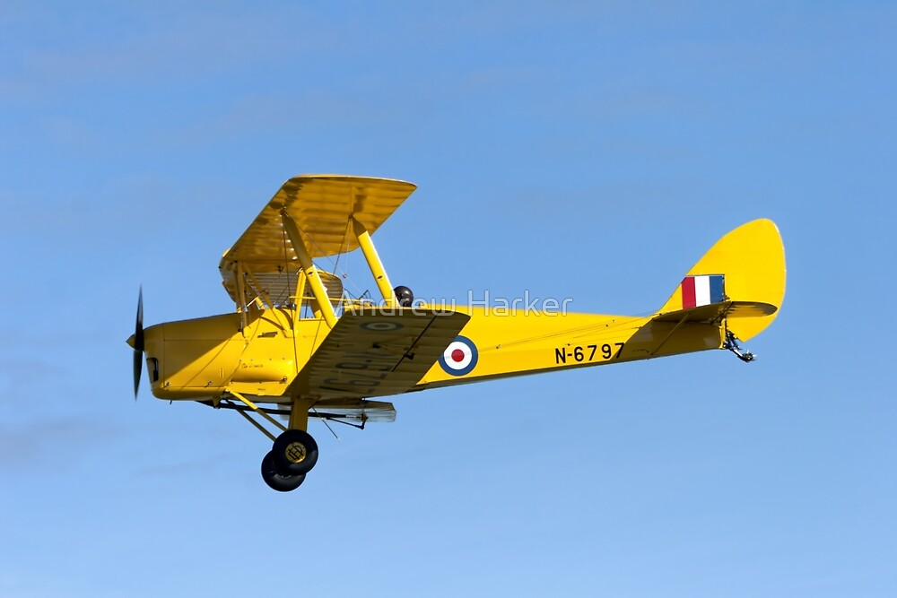 De Havilland DH.82A Tiger Moth  by Andrew Harker