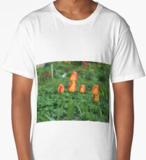 Flowers  red yellow tulips Long T-Shirt