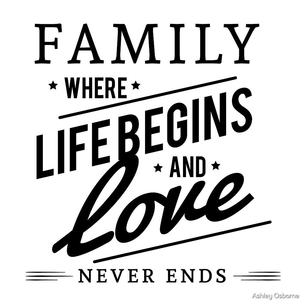 family by Ashley Osborne