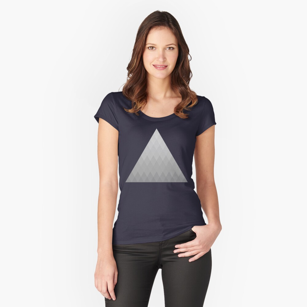 Geometry Women's Fitted Scoop T-Shirt Front