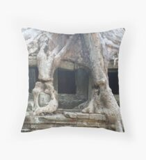 Preah Khan, Cambodia Throw Pillow