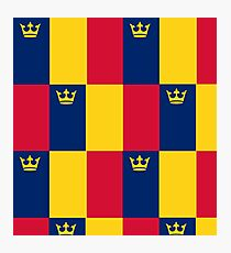 Queens Flag Photographic Print