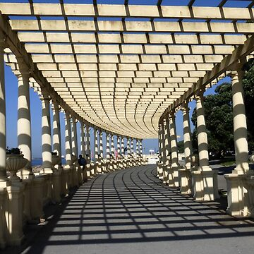Covered Walkway along the Foz do Douro by trish725