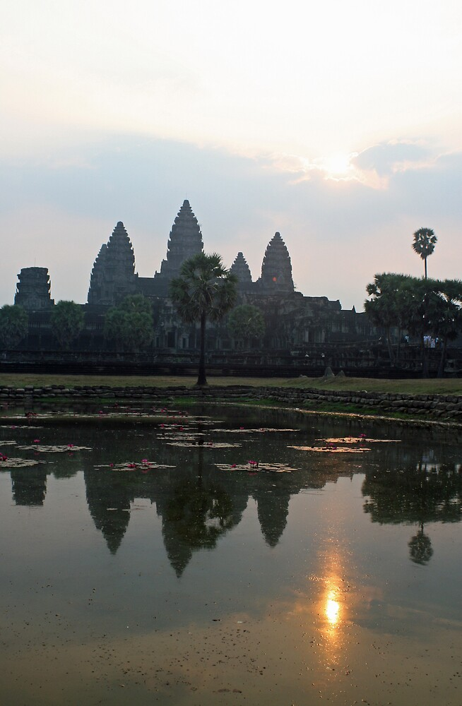 Sunrise over Angkor Wat, Cambodia by Leigh Penfold