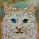 White Cat by Michael Creese
