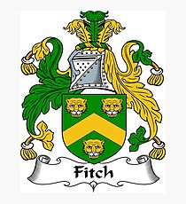 Fitch Photographic Print
