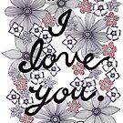 Ich liebe dich 1 von Eneri Collection