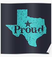 Texas Proud. Poster