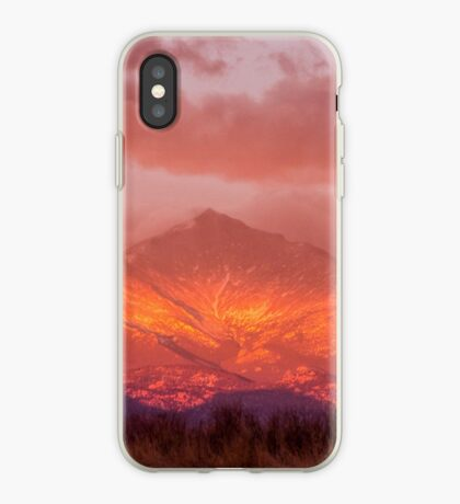 Fire Sunrise iPhone Case