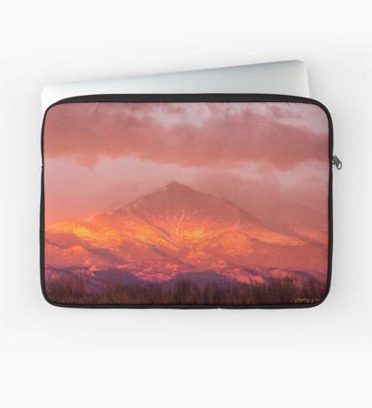Fire Sunrise Laptop Sleeve