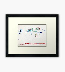 Blue by Matthew Moskowitz  Framed Print